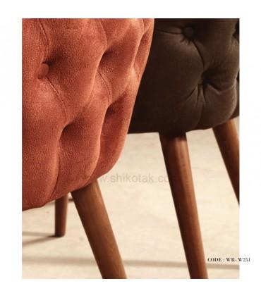 عکس صندلی پارچه ای رنزو مدل 251