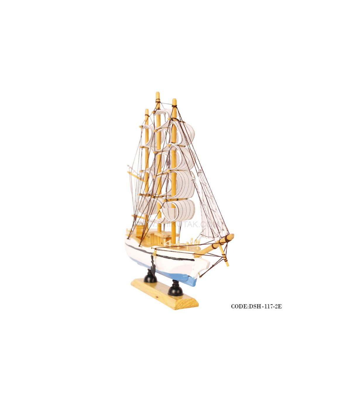 سفارش آنلاین مجسمه ی کشتی بادبان دارسری E