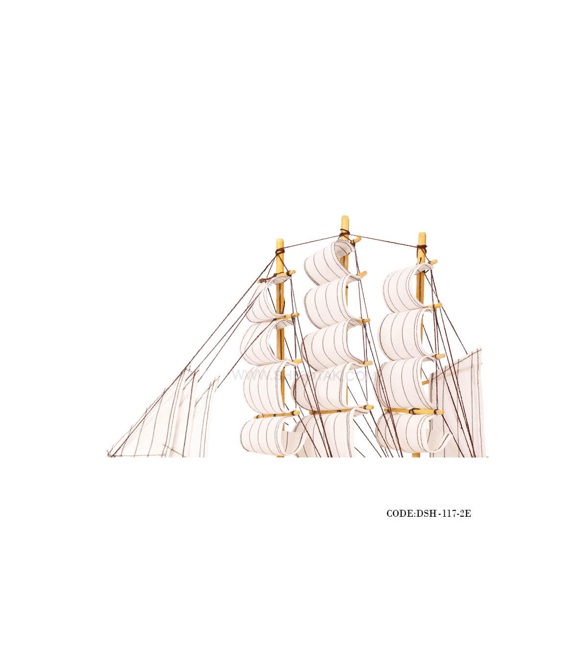 سفارش اینترنتی مجسمه ی کشتی بادبان دارسری E