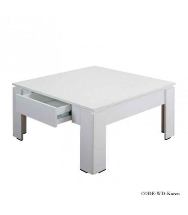 میز جلومبلی کشودار مدل کارن