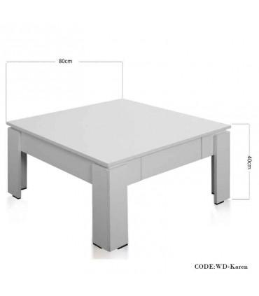 عکس میز جلومبلی کشودار مدل کارن