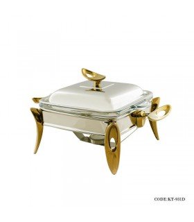 سوفله خوری استیل taksteel سری loop مدل 913D رنگ سیلور-طلایی