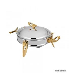 سوفله خوری استیل taksteel سری loop مدل 916D رنگ سیلور-طلایی