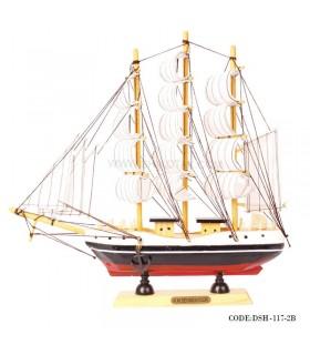 کشتی دست ساز بادبانی زیبا سری B