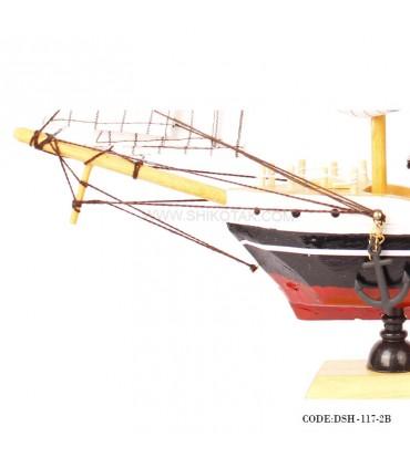 عکس کشتی دست ساز بادبانی زیبا سری B