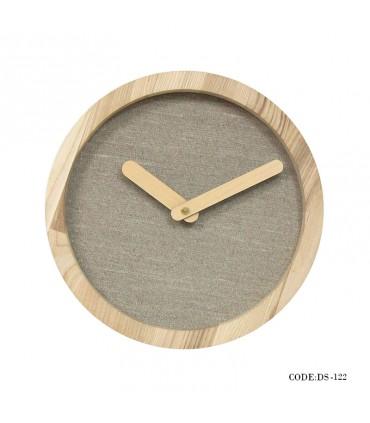 ساعت چوبی دیواری طرح مدرن مدل 122