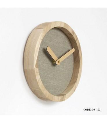 فروش اینترنتی ساعت چوبی دیواری طرح مدرن مدل 122