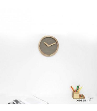 فروش آنلاین ساعت چوبی دیواری طرح مدرن مدل 122