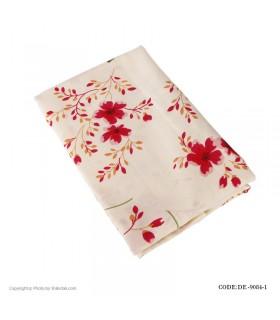 رومیزی پارچه ای طرح گل سرخی مدل 9084-1