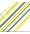 زیر بشقابی پارچه ای طرح اسپرید آبی