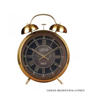ساعت رومیزی شماطه دار لوکس مدل BELMONT عتیقه