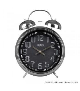 ساعت رومیزی عدد انگلیسی مدل BELMONT سیلور