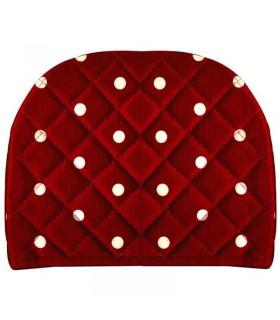 روقوری Rezin Taj طرح خالدار قرمز