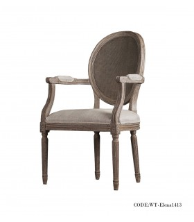 صندلی دسته دار ناهار خوری مدل ELENA