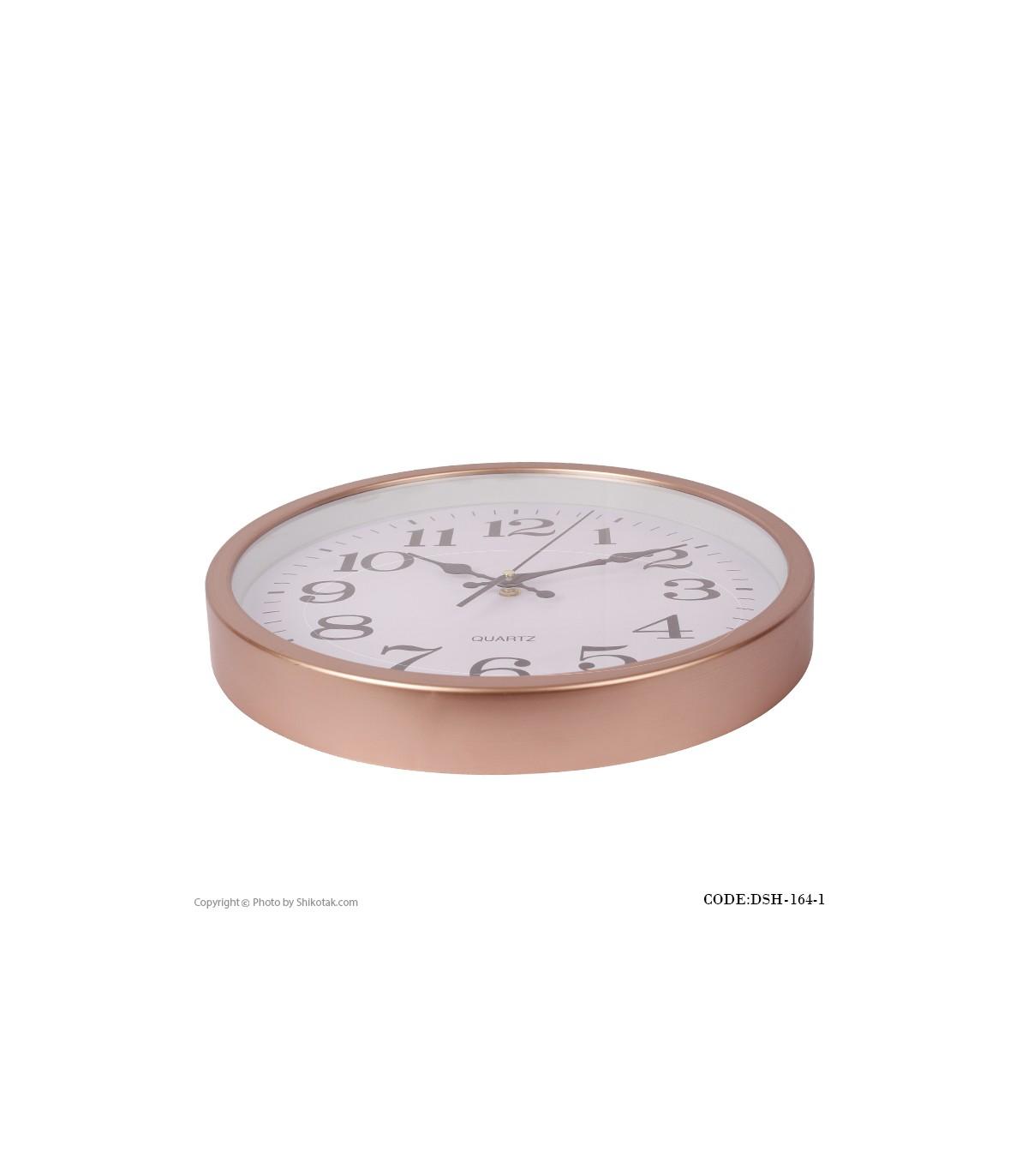 عکس ساعت دیواری کلاسیک Golden Roz