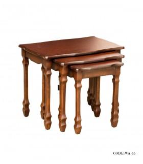 میز عسلی کمجا سه تایی سری 46