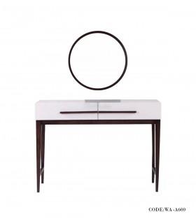 آینه و کنسول مدل آینه گرد سری A600