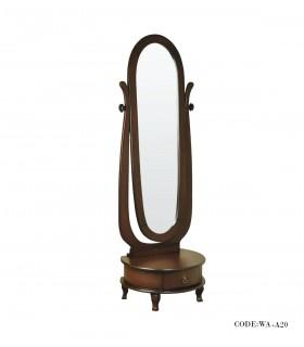 آینه قدی طرح آینه بیضی سری A20