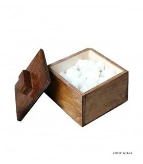 قندان چوبی دربدار مدل لادن