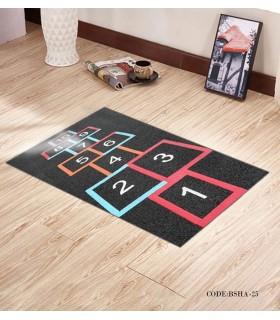 پادری و فرش اتاق کودک طرح لی لی مدل 25