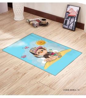 پادری فرش اتاق کودک طرح میمون در جزیره مدل 75