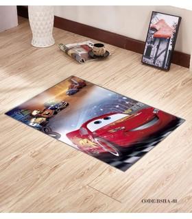 پادری و فرش فرش اتاق کودک طرح مک کویین مدل 88