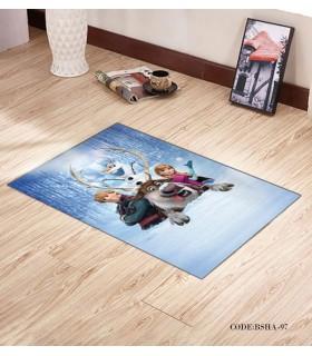 پادری و فرش فرش اتاق کودک طرح اولاف مدل 97
