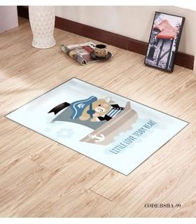 پادری و فرش فرش اتاق کودک طرح ملوان مدل 99