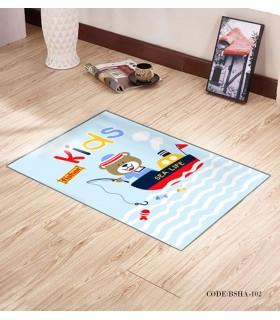 پادری و فرش فرش اتاق کودک طرح KIDS مدل 102