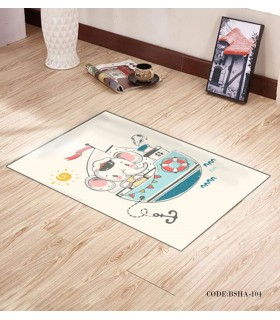 پادری و فرش فرش اتاق کودک طرح فیل مدل 104