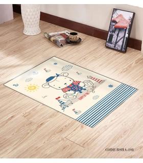 پادری و فرش فرش اتاق کودک طرح SAILOR مدل 108