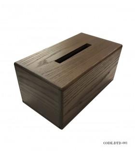 خرید جعبه دستمال کاغذی ساده مدل شیدا