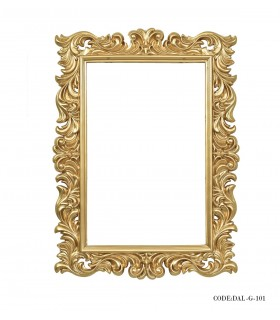 عکس آینه مستطیلی دلناز مدل 101