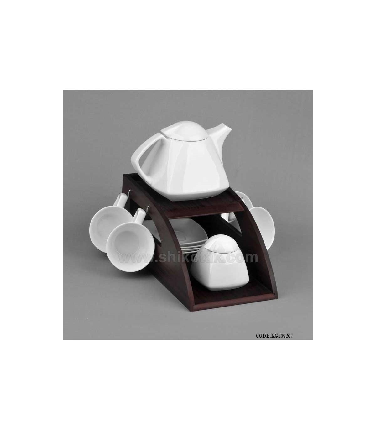 سرویس چای خوری سرامیکی هرمی