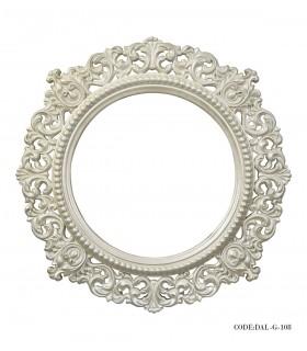 عکس آینه گرد دلشاد مدل 108