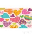 پوستر دیواری فانتزی پارچه ای مدل قلب