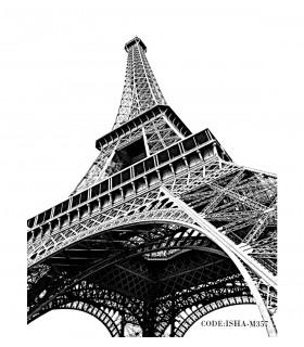 عکس پوستر دیواری پارچه ای برج مدل پاریس