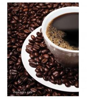 خرید پوستر پارچه ای دیواری کافی شاپی مدل COFFEE