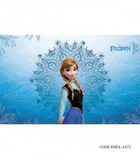 خرید پوستر پارچه ای دخترانه مدل آنا