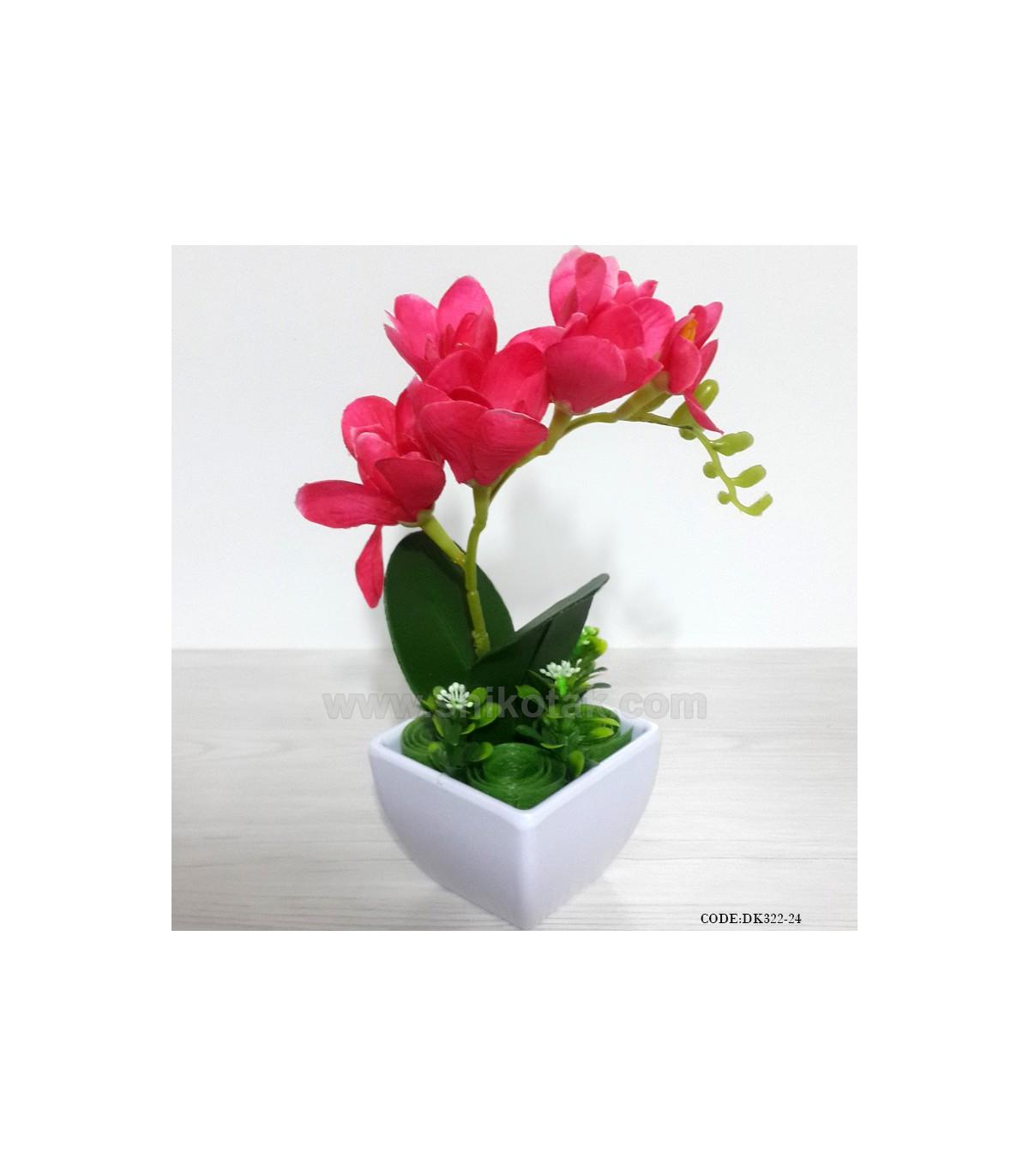 گل ارکیده مصنوعی سراخبی