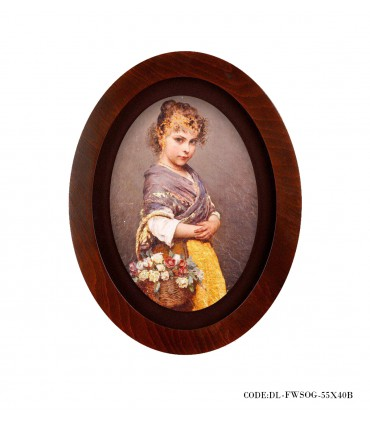 خرید تابلوی چوبی لوتوس طرح کودک