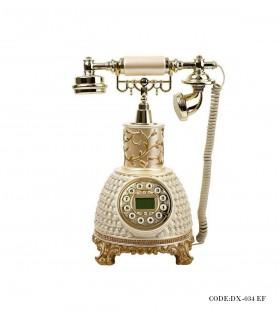 خرید تلفن رومیزی مرواریدی بلند مدل 034EF