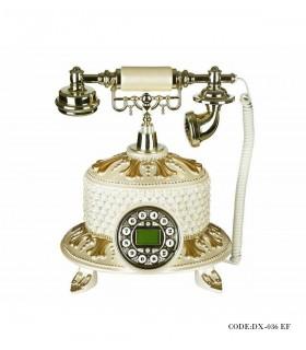 عکس تلفن رومیزی سفید بلند مدل 036EF