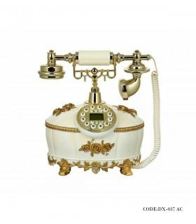 تلفن رومیزی گل طلایی مدل 037AC