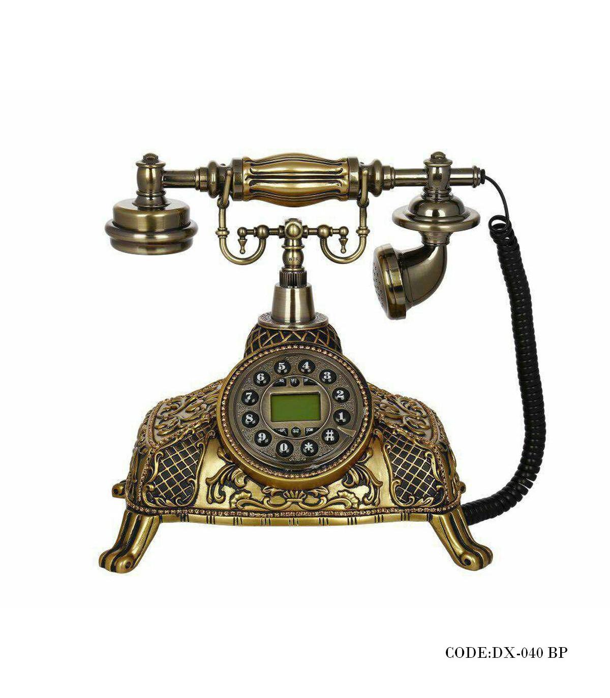 خرید تلفن رومیزی کلاسیک دکمه ای مدل 040BP