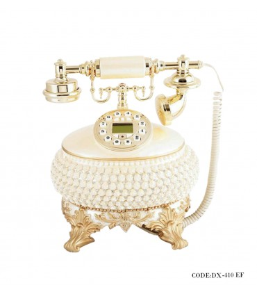تصویر تلفن رومیزی پهن کلاسیک مدل 410EF