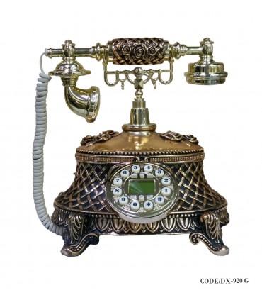 تصویر تلفن رومیزی کلاسیک گلد مدل 920G