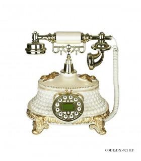 خرید تلفن کلاسیک رومیزی سفید مدل 921EF