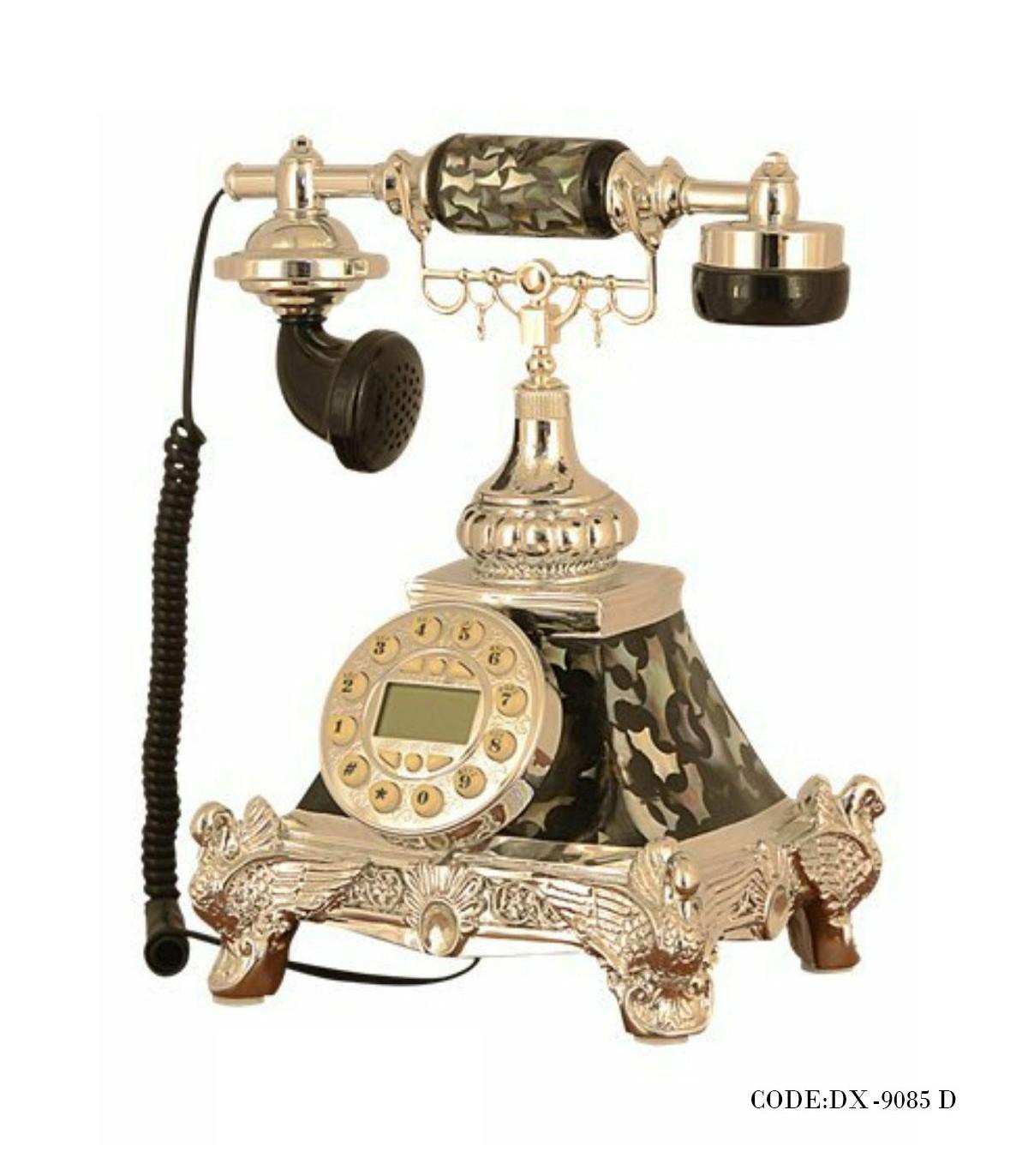 تصویر تلفن سلطنتی رومیزی چریکی مدل 9085D