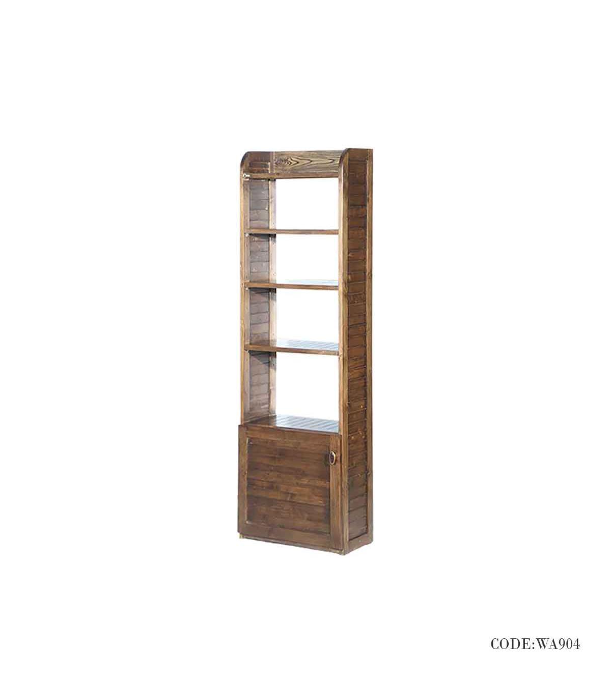 قفسه کتاب چوبی مدل رونیکا